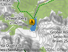 Map: Pragser Wildsee / Lago di Braies