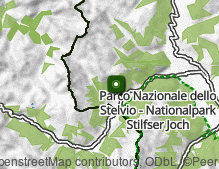 Map: Tubre in Val Monastero