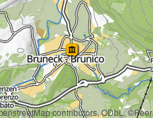 Map: Stadtmuseum Bruneck / Museo civico di Brunico