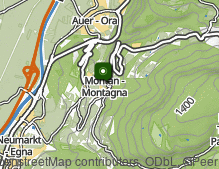 Mappa: Montagna paese