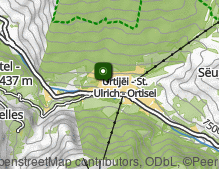 Map: Ortisei village