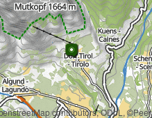 Map: Tirolo village