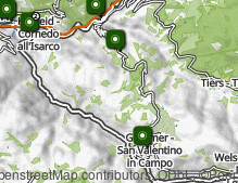 Map: Cornedo all'Isarco