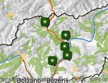 Mappa: Valle Isarco