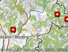 Map: Animal South Tyrol