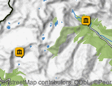 Map: South Tyrol Mining Museums - Monteneve