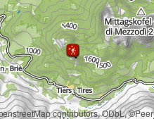 Map: Tierser Winterwanderung