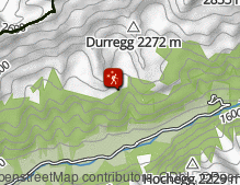 Map: Winterwanderung Pfitsch Stein