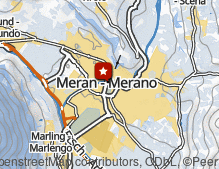 Map: Thermen Meran / Terme di Merano