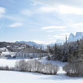 Klobenstein Arena Ritten winter inverno collalbo