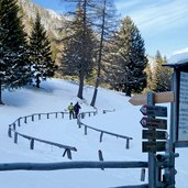gampenpass winter start weg laugenalm