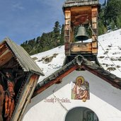 st wendelin kapelle chiesetta situata vicino alla Malga Ochsenberger Alm winter