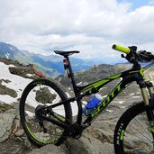 mountainbike rad stettiner huette