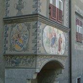 Hausfassade in Brixen