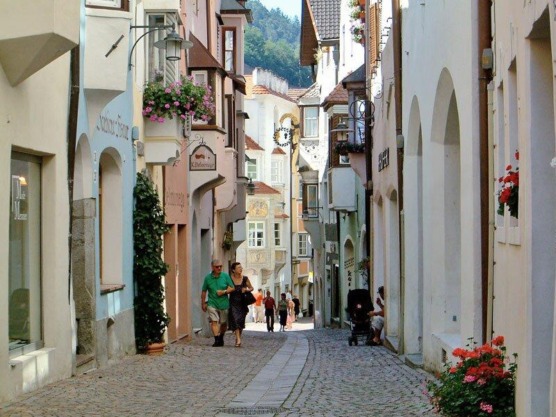 Pista ciclabile valle isarco bressanone chiusa for Hotel a bressanone centro storico