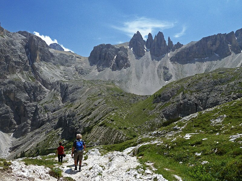 Bergtour von Sexten zur Drei-Zinnen-Hütte - Südtirol