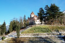 schloss sarns brixen winter