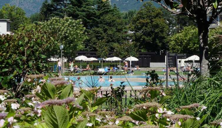 therme meran thermenpark pool schwimmbad freibad