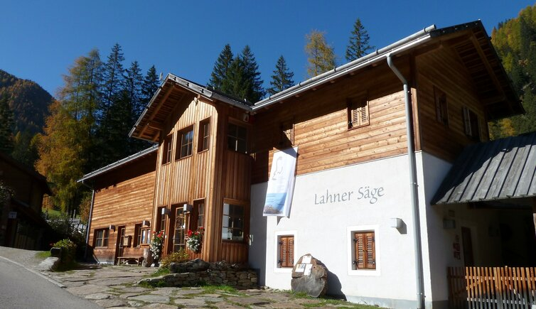 RS ulten lahner saege nationalparkhaus st gertraud