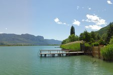 The Lake of Caldaro at the end of May